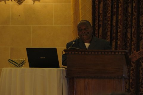 Beny presenting at the Canadian Fair Trade Network Conference, February 19th, 2016 in Winnipeg. Photos Fair Trade Conference, February 2016, Fort Gary Hotel, Winnipeg MB.